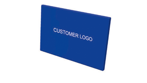 Customer logo for protection mat