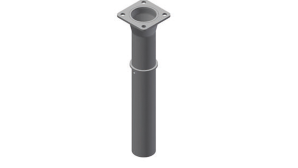 EOS, internal pit tube without reduction Ø 114mm closed cover