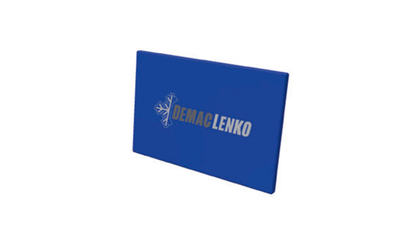 Protection mat 300x200x10cm, Blue RAL 5017