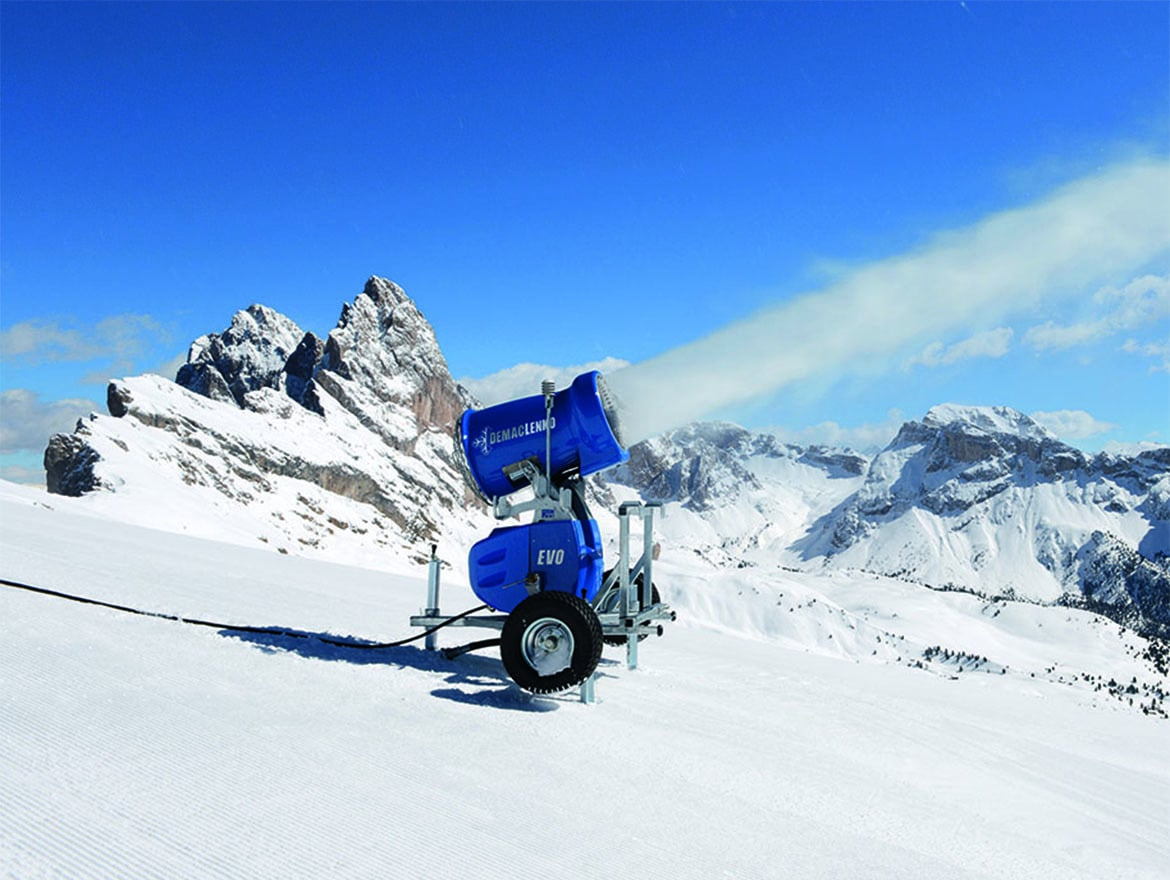 Demaclenko snowmaking systems arrived in Estonia
