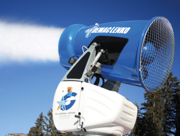 Powerful snowmaking systems - a factor in the success of major events