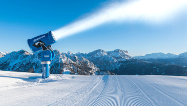 Technical snowmaking - a key factor for the success of major events